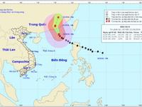 Chiều nay (21/10), bão Haima vào đất liền Trung Quốc