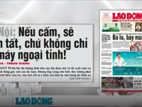 Hà Nội: Nếu cấm, sẽ cấm tất, chứ không chỉ xe máy ngoại tỉnh!