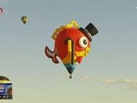 Những hình ảnh đẹp trong lễ hội khinh khí cầu tại New Mexico