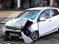 Gia Lai: Tai nạn liên hoàn khiến 7 người bị thương