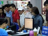 TP.HCM: Phí đổi, trả vé tàu Tết Đinh Dậu là 30 giá vé