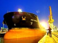 Cảng Hải Phòng đón tàu lớn kỷ lục