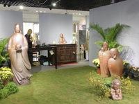 """""""Tết trong ngôi nhà Việt"""" bày 500 sản phẩm tranh, gốm..."""