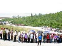 9 ngày nghỉ Tết: gần 10 vạn lượt người viếng mộ Đại tướng Võ Nguyên Giáp