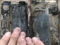 iPhone 7 bất ngờ phát nổ, thiêu rụi bên trong xe ô tô