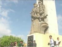 Khánh thành Đài tưởng niệm quân tình nguyện Việt Nam
