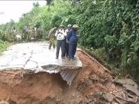 Giao thông Kon Tum thiệt hại nặng sau mưa lũ