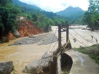 Lào Cai: Tiếp cận được 16 hộ dân bị cô lập do mưa lũ