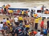 Lật thuyền du lịch tại Thái Lan, ít nhất 61 người thương vong