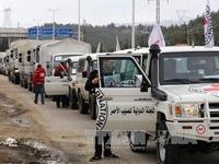 LHQ nối lại hoạt động cứu trợ nhân đạo tại Syria