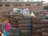 El Haroon - Ngôi làng tái chế lốp xe duy nhất tại Ai Cập