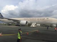 Máy bay Saudi Arabia hạ cánh khẩn cấp ở Philippines vì... báo động nhầm