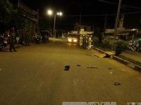 Bình Phước: Xe máy mất lái khiến 3 người thương vong