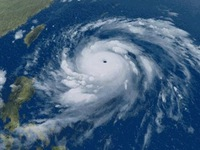 Siêu bão Meranti mạnh hơn cả siêu bão Haiyan về sức gió