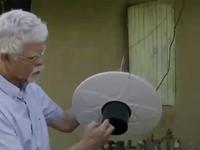 Thiết bị bắt muỗi sử dụng năng lượng mặt trời