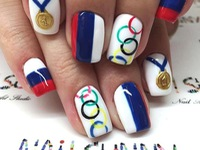 Hot: Vẽ móng tay theo chủ đề Olympic Rio 2016
