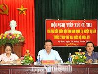 Cử tri tỉnh Nam Định kiến nghị đổi mới các chế độ chính sách