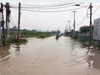 TP.HCM khắc phục nhiều điểm ngập sau trận mưa lịch sử