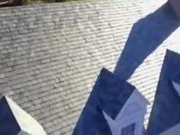 Độc đáo mái nhà thu năng lượng mặt trời