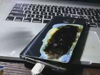 Samsung Galaxy Note7 bản mới vẫn nổ khi đang sạc