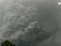 Núi lửa phun trào tại Indonesia, ít nhất 7 người thiệt mạng