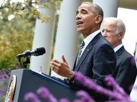 Tổng thống Obama chúc mừng Tổng thống đắc cử Donald Trump