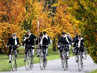 Thú vị cuộc đua xe đạp cổ tại Cộng hòa Czech