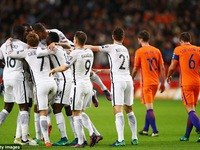 Vòng loại World Cup 2018: Pogba ghi bàn duy nhất giúp Pháp vượt qua Hà Lan