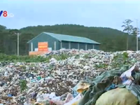 Xử lý hơn 20.000 tấn rác tồn, Lâm Đồng mở lại bãi rác Cam Ly