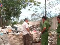 Quảng Nam: Xử lý cơ sở ép nhựa phế liệu chôn chất thải trái phép