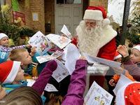 Giáng sinh sớm tại bưu điện của ông già Noel tại Đức