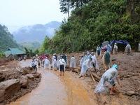 Nghệ An: Mưa lớn liên tục gây ngập lụt, sạt lở nhiều nơi