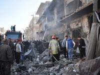 Syria: Đánh bom kép ở miền Trung, 10 người thiệt mạng