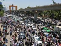 Đề xuất cấm xe máy ngoại tỉnh vào nội thành Hà Nội