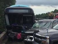 Tai nạn xe bus tại Mỹ, hơn 40 người thương vong
