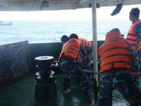 Bộ Tư lệnh Vùng Cảnh sát biển 3 cứu tàu cá bị nạn trên biển