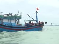 Cứu nạn thành công tàu cá bị hỏng máy