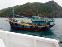 Cứu nạn thành công 5 thuyền viên bị nạn tại khu vực thềm lục địa phía Nam
