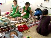 TP.HCM: Số bệnh nhi tay chân miệng liên tục gia tăng