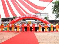 Khai trương tuyến xe bus chất lượng cao đầu tiên tại Bình Phước