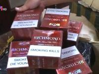 Thu giữ 4.000 bao thuốc lá lậu tại Mỹ Đình 2, Hà Nội