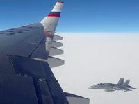 Tiêm kích của Thụy Sĩ áp sát máy bay Nga