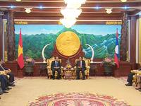 Việt Nam dành ưu tiên cao nhất cho quan hệ Việt - Lào