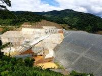 Vỡ ống thủy điện Sông Bung 2 do ảnh hưởng của bão số 4 và áp thấp nhiệt đới