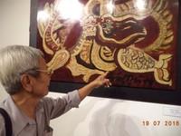 Ồn ào trong triển lãm 'Những bức tranh trở về từ châu Âu'
