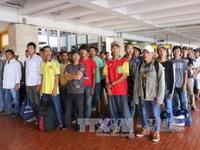 Indonesia trao trả 49 ngư dân Việt Nam