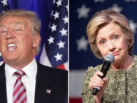 Bà Hillary Clinton nới rộng khoảng cách với ông Donald Trump