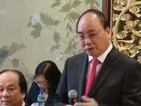 Thủ tướng làm việc với các nhà đầu tư tài chính Hong Kong, Trung Quốc