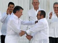 Hơn 50 cử tri Colombia bác thỏa thuận hòa bình với du kích FARC