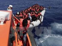 Italy cứu hơn 2.000 người di cư lênh đênh trên biển